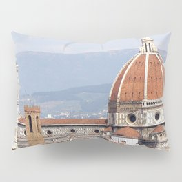 Florence cathedral dome photography Pillow Sham
