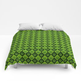 weed pattern Comforters
