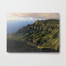 Kalalau Valley Metal Print