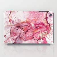 psychology iPad Cases featuring Mr Bunny by hoploid