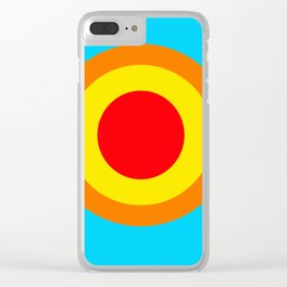 Sun 1 Clear iPhone Case
