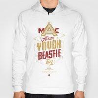 beastie boys Hoodies featuring ∞ Adam Yauch • No way! I'm a Beastie Boy ∞ by Fabio Persico