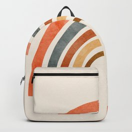 Abstract Rainbow 88 Backpack