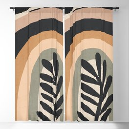 Abstract Art Rainbow 2 Blackout Curtain