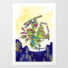 COWABUNGA! Art Print