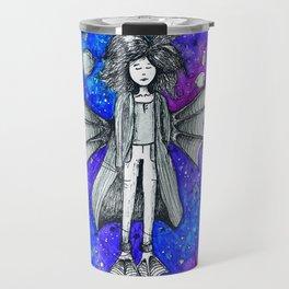 Woman from the galaxy Travel Mug
