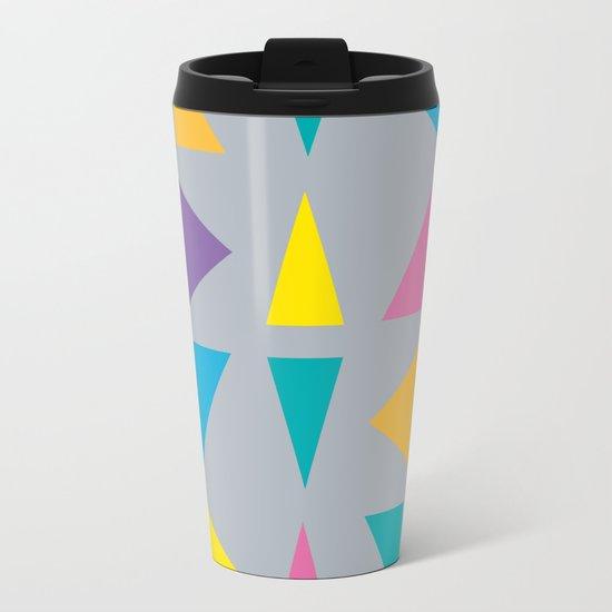 Colorful Corners Metal Travel Mug