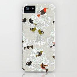 bird love trees iPhone Case
