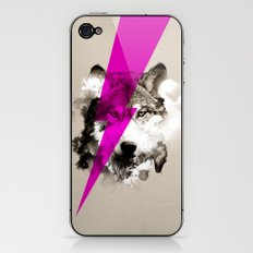 Wolf Rocks iPhone & iPod Skin