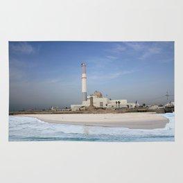 Tel Aviv photo - Reading power station Rug