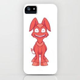 Happy Donkey iPhone Case