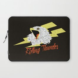 Screaming Eagle (Rolling Thunder) Laptop Sleeve