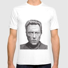 Christopher LARGE White Mens Fitted Tee