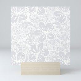 Maui Polynesian Silver Wedding Mini Art Print