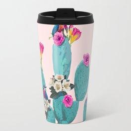 Cactus Hummingbirds Travel Mug