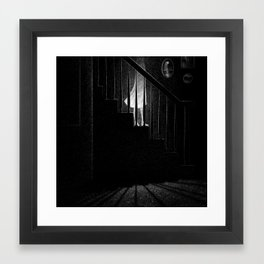 Drawlloween 2015: Ghost Framed Art Print