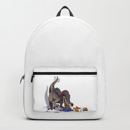 Dinosaurs to eat Backpack