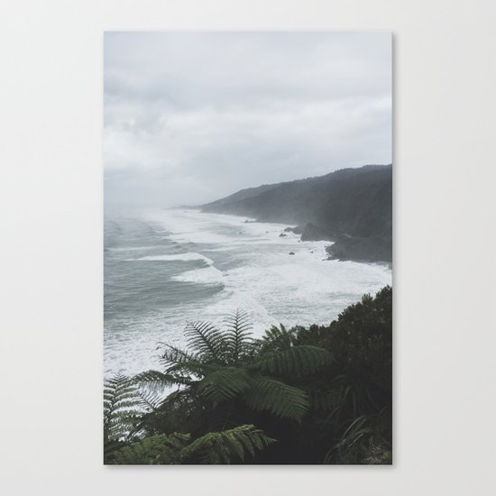 Great Coast Road II Canvas Print