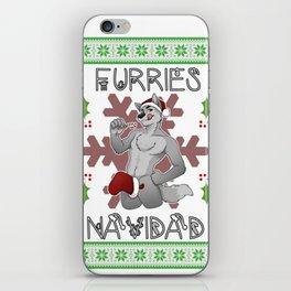 Furries Navidad iPhone Skin