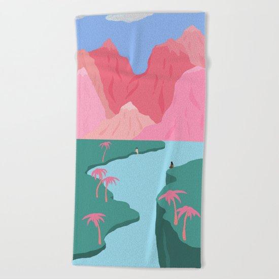 Girls' Oasis Beach Towel