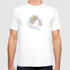Little Conductor Mens Fitted Tee White MEDIUM