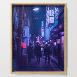 Tokyo Nights / One Minute To Midnight / Liam Wong Serving Tray