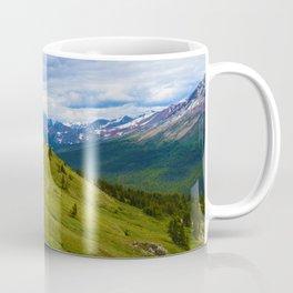 Views Along the Wilcox Pass Trail in Jasper National Park, Canada Coffee Mug