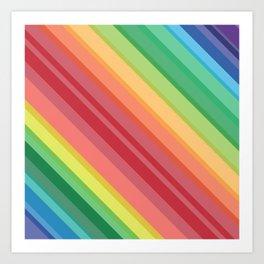 The end of the rainbow! Art Print