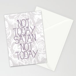 Not Today. Stationery Cards