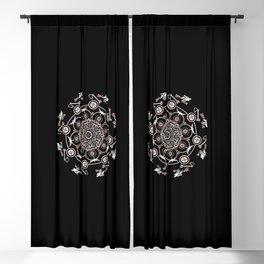 Shield Maiden  Blackout Curtain