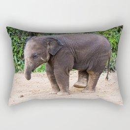 Baby Elephant Rectangular Pillow