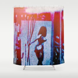 Crossing Wires Shower Curtain