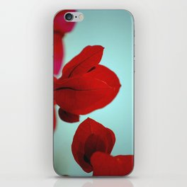 Flower flash iPhone Skin
