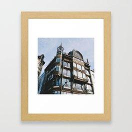 Belgian Architecture Framed Art Print