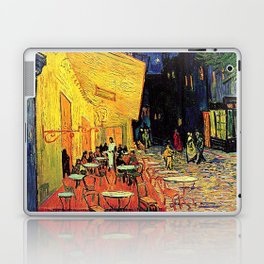 The cafe terrace on the place du forum, Arles, at night, by Vincent van gogh.  Laptop & iPad Skin