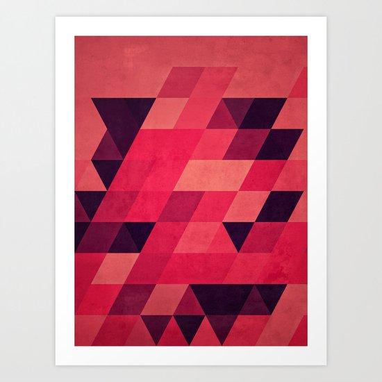 pynk Art Print