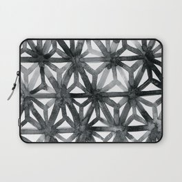 Charcoal Asanoha Laptop Sleeve