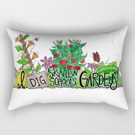 I Dig Skyview School Gardens! Rectangular Pillow