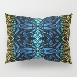 Fractal Art Stained Glass G315 Pillow Sham