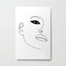 Kate Eye Metal Print