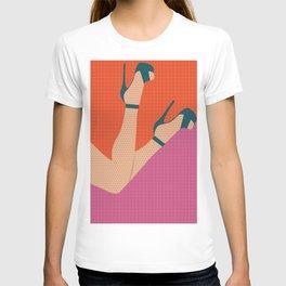Arch + Point // Femme, Feminine, Valentine, Lingerie, Pin Up, Vintage T-shirt
