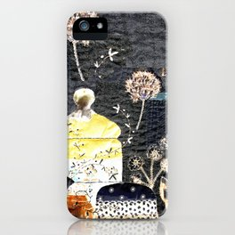 Magic tea in the garden iPhone Case