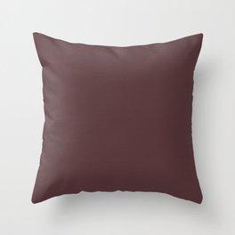 """""""Porstroke Rosewood / Rose Gold (Pattern)"""" Throw Pillow"""