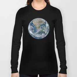 Planet Earth from Space Long Sleeve T-shirt
