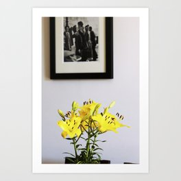 Lilies for Love Art Print
