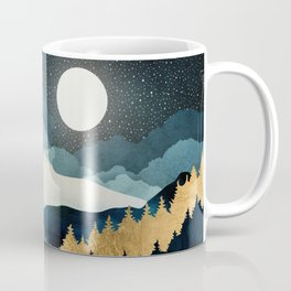 Indigo Night Coffee Mug
