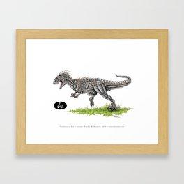 Jurassic World - Indominus Rex (I-Rex) Framed Art Print