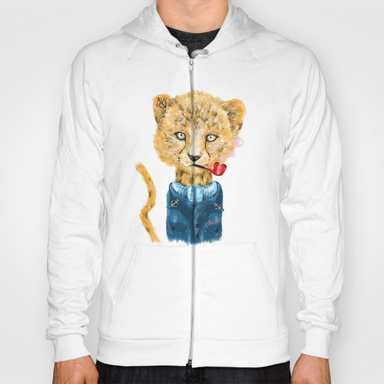 Cheetah Sailor Hoody
