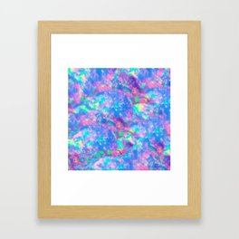 The Opal Framed Art Print