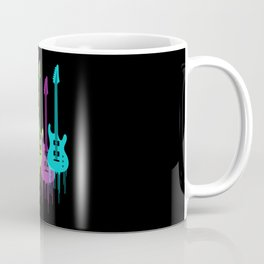 Colorful Guitars | Music is the color for the ears Coffee Mug